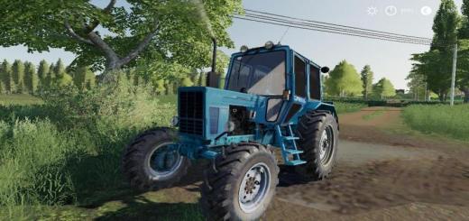 Photo of FS19 – Mtz 82 Uk Tractor V1