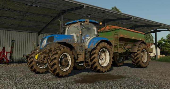 FS19 - New Holland T6 + T7 200 Series V1