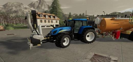 Photo of FS19 – New Holland T7550 Tvt Tractor V1