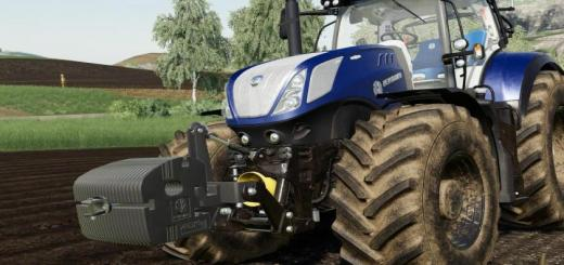 Photo of FS19 – New Holland Weight V1