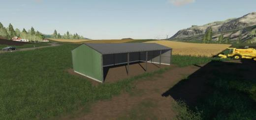 Photo of FS19 – Open Shed V1
