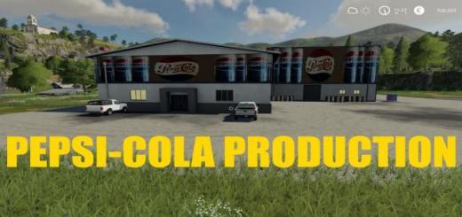 Photo of FS19 – Pepsicola Production V1