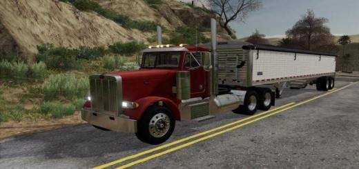 Photo of FS19 – Peterbilt 379 Daycab V2
