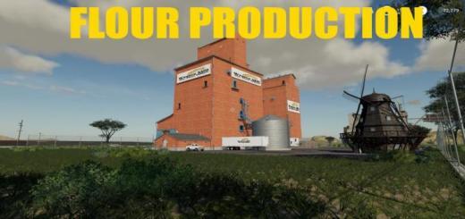 Photo of FS19 – Placeable Flour Production V1