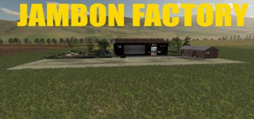 Photo of FS19 – Placeable Jambon Production V1.0.5