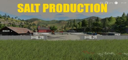 Photo of FS19 – Placeable Salt Production V1