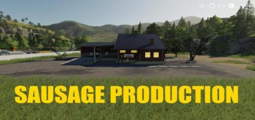 Photo of FS19 – Placeable Sausage Production V1