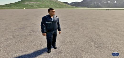 Photo of FS19 – Placeable Security Man 19 V1