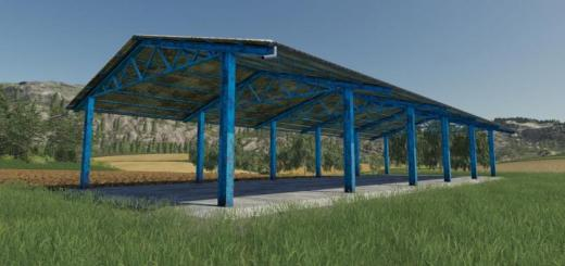 Photo of FS19 – Placeable Vehicle Shelter V1