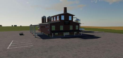 Photo of FS19 – Placeable Whiskey Distillery V2