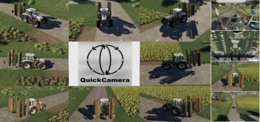 Photo of FS19 – Quickcamera V2.1.0.9