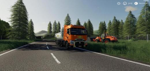 Photo of FS19 – Renault Trange Colas V1