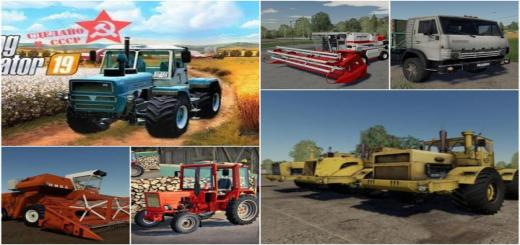 Photo of FS19 – Russian Old School Farming Mods V1