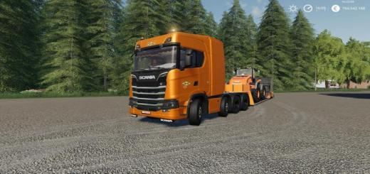 Photo of FS19 – Scania Colas Truck V1