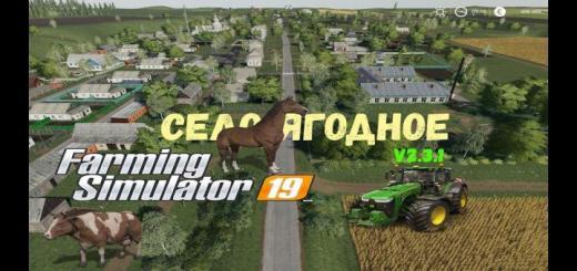 Photo of FS19 – Selo Yagodnoye Map V1.4.1.10