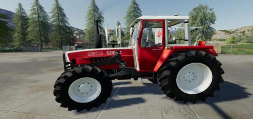 Photo of FS19 – Steyr 8100 Sk1 Basic V1.1