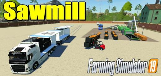 Photo of FS19 – System-Tec Sawmill V1.0.0.1
