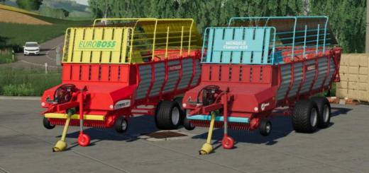 Photo of FS19 – Tandem Loader Wagons V1