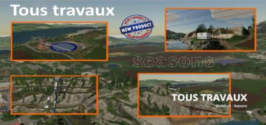 Photo of FS19 – Tous Travaux Map V1
