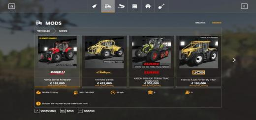 Photo of FS19 – Tracteurs Forestier Pack V1