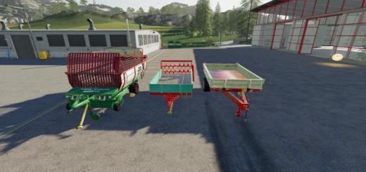 Photo of FS19 – Trailer Pack V1.2