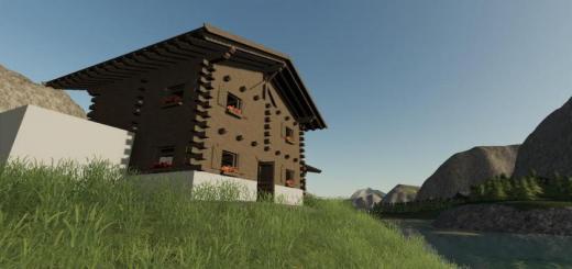 Photo of FS19 – Tyrolean Farmhouse V1