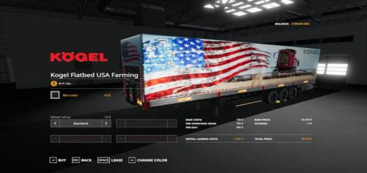 Photo of FS19 – Usa Farming Kogel Autoloader Trailer V1