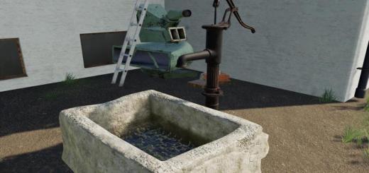 Photo of FS19 – Vintage Water Pump V1.1