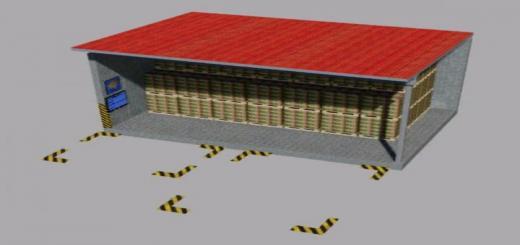 Photo of FS19 – Warehouse For Pallets Multimap2019 V1