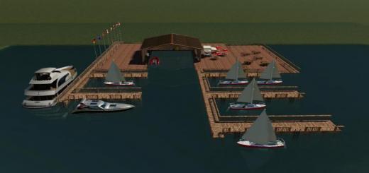 Photo of FS19 – Yachthafen V1.0.1