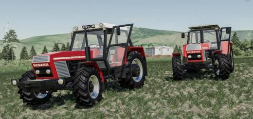 Photo of FS19 – Zetor 12045-12145 Tractor V1