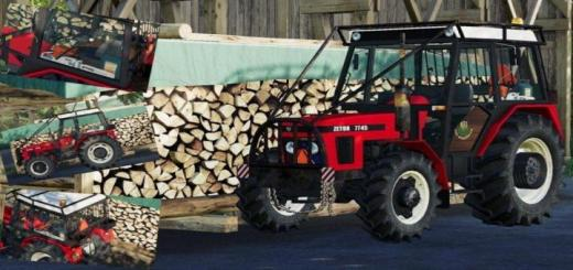 Photo of FS19 – Zetor 7745 Forest Edition