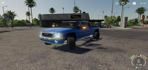 Photo of FS19 – 05 Gmc Sierra Lb7 Duramax V1.1