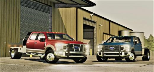Photo of FS19 – 2020 Ford F-Series (F-250, F-350, F-450) V1.2.2