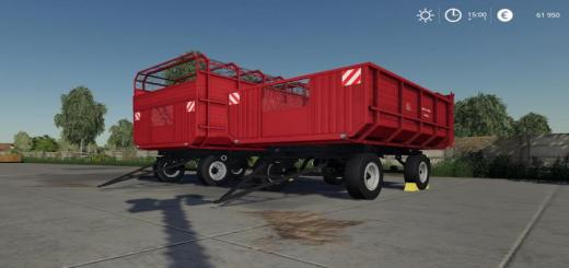 Photo of FS19 – 2Pts 4.5 Furgon Trailer V1.1