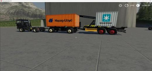 Photo of FS19 – Atc Container Transportation Pack V2.1.1