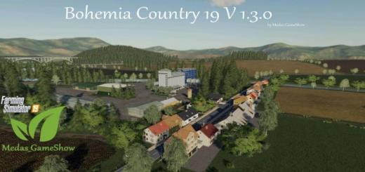 Photo of FS19 – Bohemia Country 19 Map V1.3