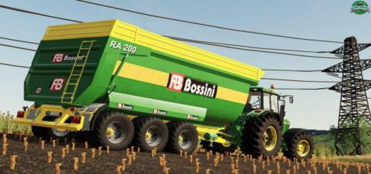 Photo of FS19 – Bossini Ra200/6 Trailer V1