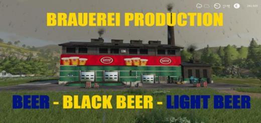 Photo of FS19 – Brauerei Production V1.0.6