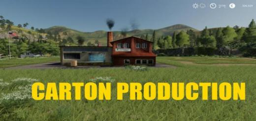 Photo of FS19 – Carton Production V1.0.5