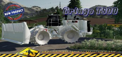 Photo of FS19 – Cat 836K Landfill Eiffage V1.5