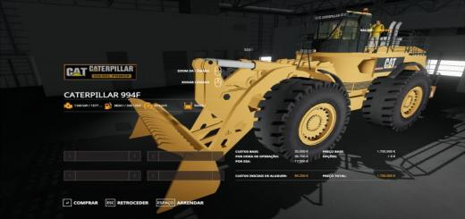 Photo of FS19 – Cat 994F V0.1