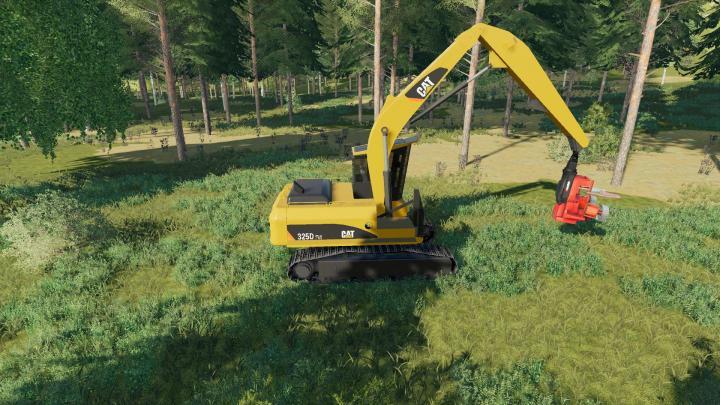 FS19 - Caterpillar 325D Fm V1