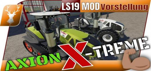 Photo of FS19 – Claas Axion Terra Trac X-Treme Edition V1.0.0.1
