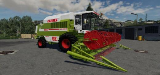 Photo of FS19 – Claas Dominator 108Sl Maxi Special V1.1