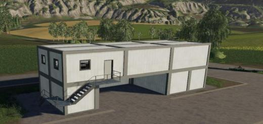 Photo of FS19 – Container Office V1.1
