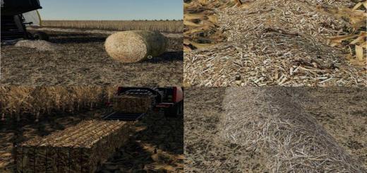 Photo of FS19 – Corn & Soybean Straw Bales V1