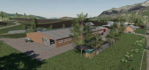 Photo of FS19 – Cows Barn V1.0.0.1