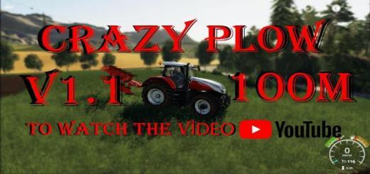 Photo of FS19 – Crazy Plow 100M Agromasz Poh5 V1.2