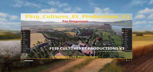 Photo of FS19 – Cultures Et Productions V3